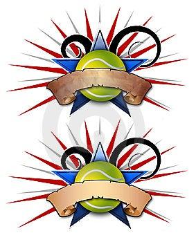 Tennis Star Illustration 2 Royalty Free Stock Image - Image: 9567376