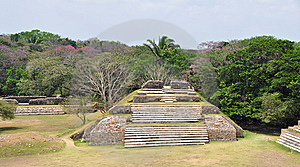Altun Ha Stock Photo - Image: 9568940