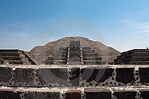 Teotihuacan Piramides Stock Photo - Image: 9569960