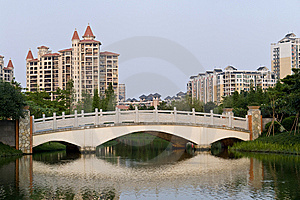 Chinese Residence Royalty Free Stock Image - Image: 9570696