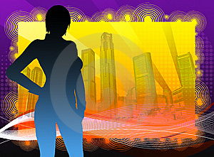 Funky Singapore 1 Stock Images - Image: 9571044
