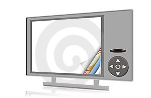 Digital Frame Royalty Free Stock Images - Image: 9573019
