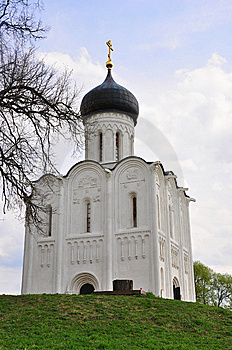 Church Pokrov-on-Nerl Stock Photos - Image: 9573393