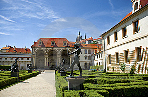 Valdstejn Palace In Prague Royalty Free Stock Photography - Image: 9573727