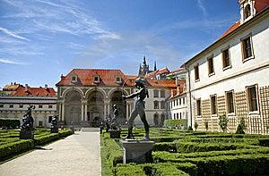Valdstejn Palace In Prague Royalty Free Stock Photography - Image: 9573727