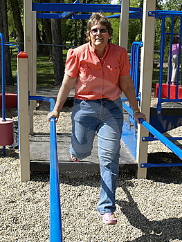 Adult Lady Activety Stock Image - Image: 9574841