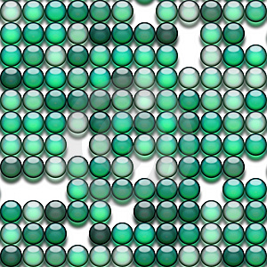 Green Marbles Stock Image - Image: 9575011
