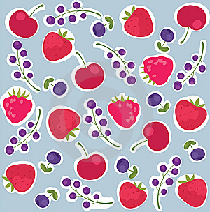 Berries Background Stock Photography - Image: 9576112