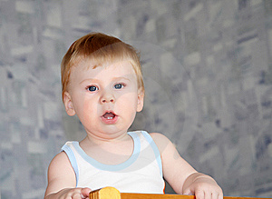 The Child Royalty Free Stock Photography - Image: 9578107