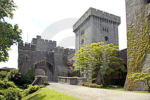Penrhyn Castle Gatehouse Royalty Free Stock Images - Image: 9579129