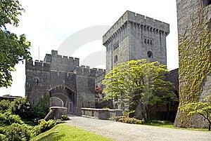 Penrhyn Castle Gatehouse Royalty Free Stock Images - Image: 9579129
