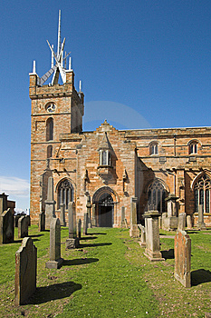 St Michael's Church, Linlithgow, Scotland Stock Images - Image: 9580284