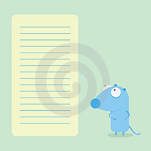 Vector Mouse Royalty Free Stock Photography - Image: 9580627