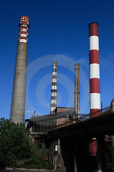 Iron And Steel Plant5 Royalty Free Stock Photos - Image: 9580798
