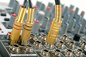 Audio Control Console Royalty Free Stock Images - Image: 9581419