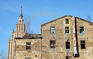 Ruin. Royalty Free Stock Image - Image: 9581756
