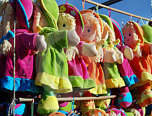 Fabric Dolls Stock Images - Image: 9582734