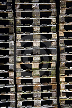 Euro Pallets Stock Images - Image: 9583584