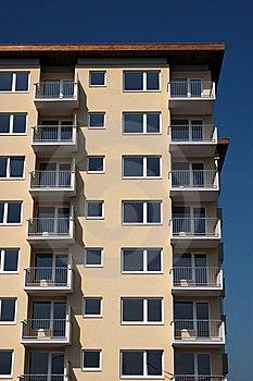 New Residence House Stock Image - Image: 9584321