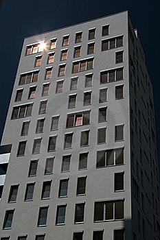 Modern Apartment Building Stock Photos - Image: 9584383