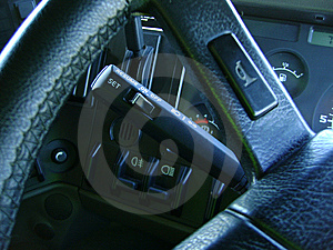 Vehicle controls image 01 Royalty Free Stock Photos