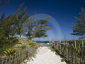 Welcome To The Beach Stock Photo - Image: 9589870