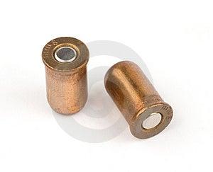 9mm Ammunition Stock Photo - Image: 9591190