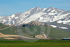 Castelluccio Stock Photos - Image: 9596993