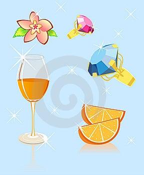 Orange Flower Brilliant Royalty Free Stock Image - Image: 9597246