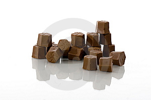 Close Up Of Chocolate Candy Royalty Free Stock Photography - Image: 9599537