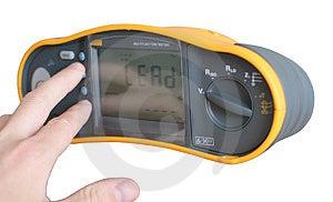 Professional Digital Multimeter Stock Image - Image: 962251