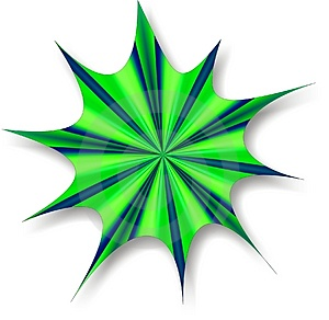 Green Blue Splat Royalty Free Stock Photo - Image: 963265