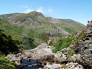 Afon Ogwen. Stock Photos - Image: 966403