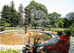 Public Park Hot Afternoon Royalty Free Stock Images - Image: 966569