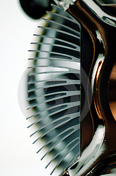 CPU Heat Sink Fin Royalty Free Stock Images - Image: 966599