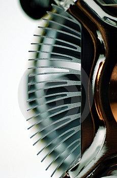 Aleta Do Dissipador De Calor Do Processador Central Imagens de Stock Royalty Free - Imagem: 966599