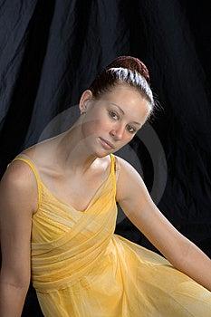 Relaxing Ballerina Royalty Free Stock Photos - Image: 968038