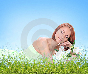Relaxatin Outdoors Stock Photo - Image: 9606960
