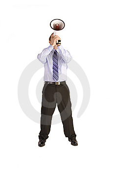 Business Announcment Stock Images - Image: 9607134