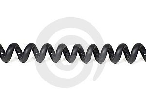 Black Cable Stock Images - Image: 9607914