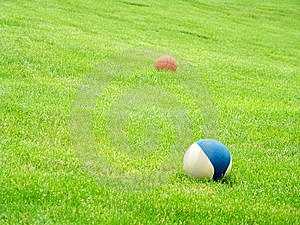 Two Balls Royalty Free Stock Photo - Image: 9608185