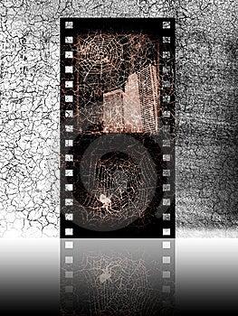 Old Movie Film Stock Photo - Image: 9608690