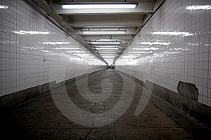 Subway Entrance Royalty Free Stock Image - Image: 9609226