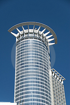 Modern Business Building In Frankfurt Am Main Stock Images - Image: 9609964
