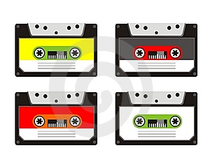 Audio Tape Royalty Free Stock Images - Image: 9611409
