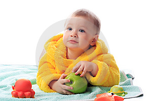 Cosy Towel Royalty Free Stock Images - Image: 9614529
