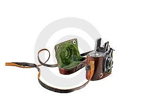 Antique Camera Stock Photo - Image: 9615220
