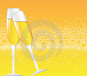 Champagne Bubbles Royalty Free Stock Photography - Image: 9615397