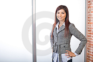 Business Woman In Modern Office Stock Photography - Image: 9616372