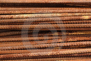 Steel Rods Stock Images - Image: 9618174